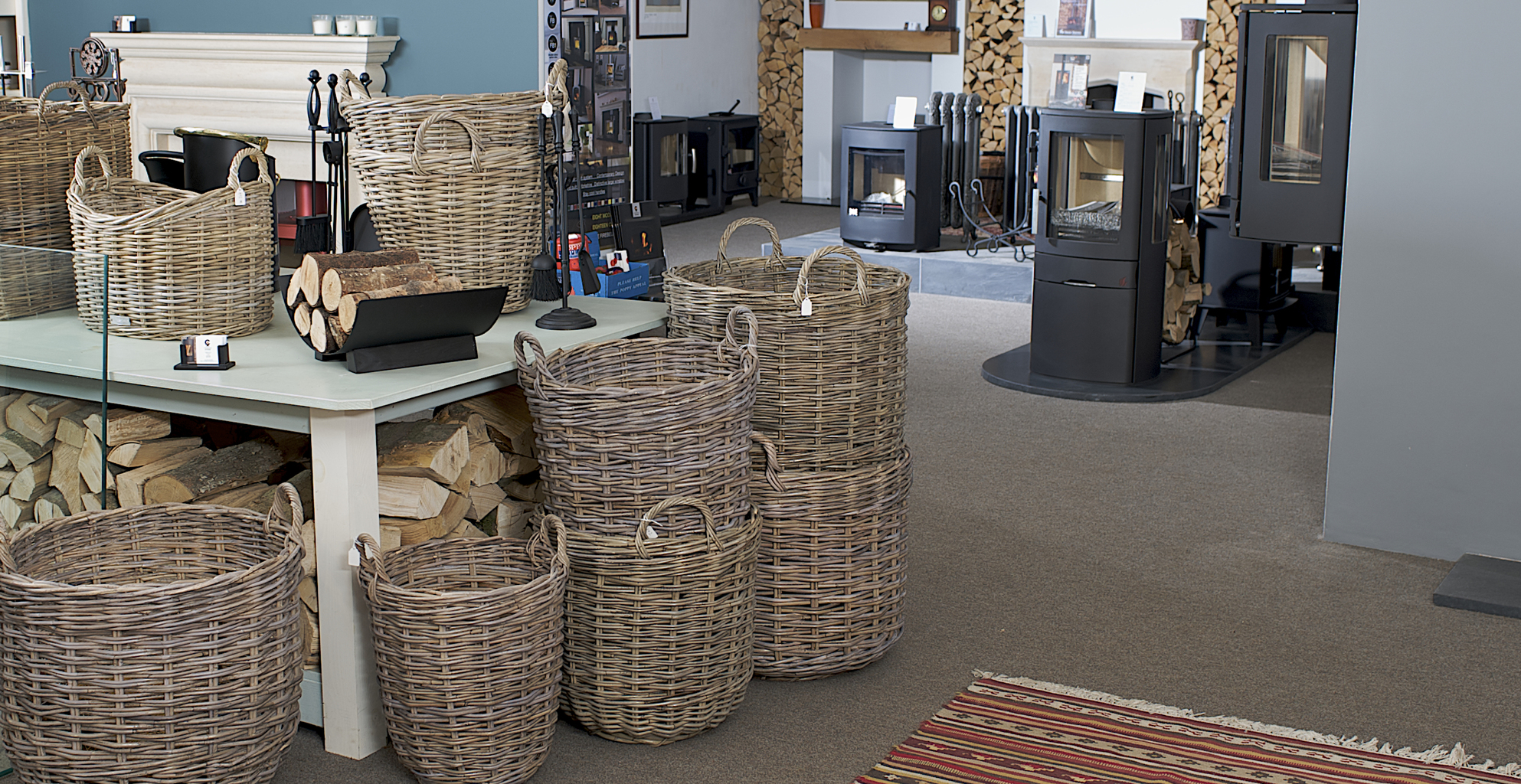 Cambridge Stoves showroom